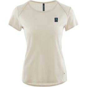 Klättermusen Vile Shortsleeve Shirt Women beige